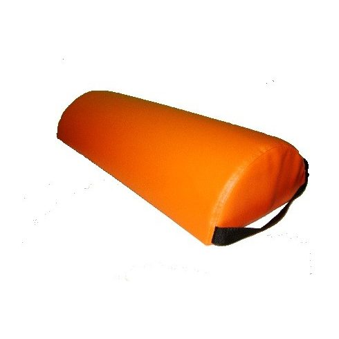 Félhengerpárna, fogófüllel, narancs