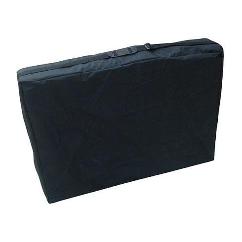 Hordtáska, vállpántos, 70 cm-es masszázságyra, fekete