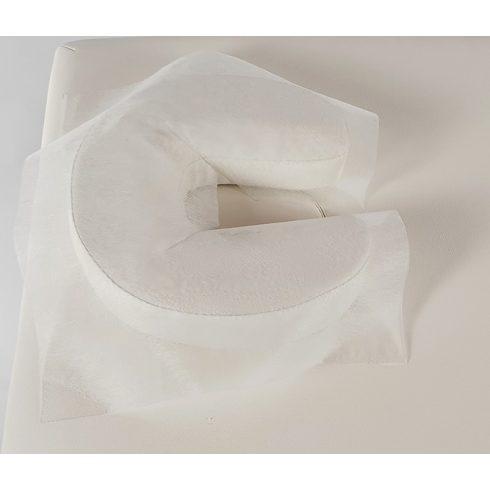 Higiéniai fej-láb alátét Y kivágással 10 db- fehér