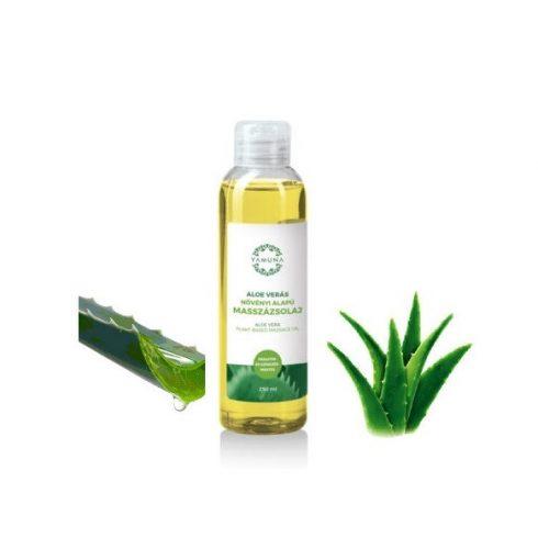 Yamuna Aloe vera NÖVÉNYI masszázsolaj, 250 ml