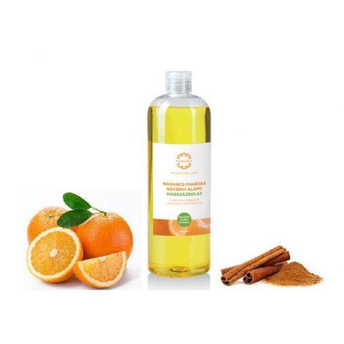 Yamuna Narancs-fahéj NÖVÉNYI masszázsolaj, 1000 ml
