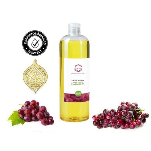 Prémium szőlőmagolajos masszázsolaj, 1000 ml, növényi