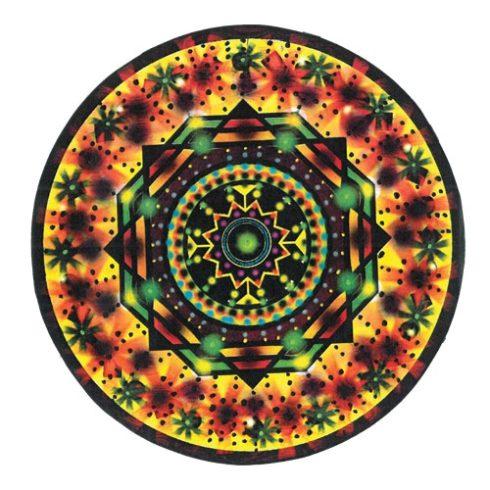Mandala ABLAKFÓLIA 14 cm - ÖNZETLEN SZERETET ÉS GYÓGYULÁST SEGÍTŐ