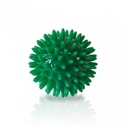 Masszírozó, tüskés labda - zöld