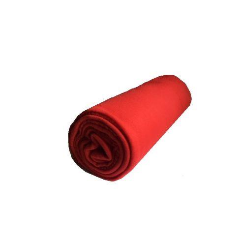 Polár pléd piros