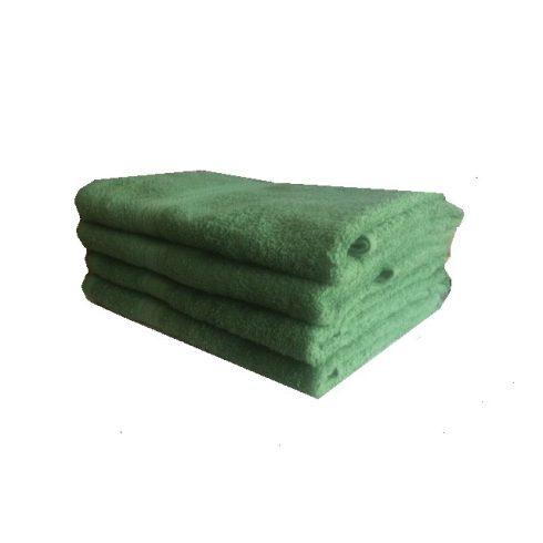 Törölköző pamut 65 x 130 cm- Zöld
