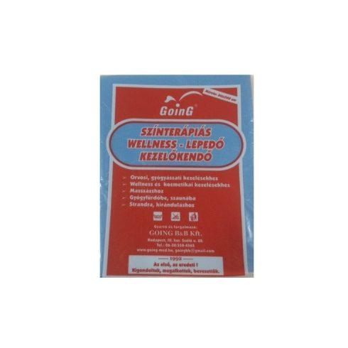 Wellness színterápiás kezelőkendő 80 x 200 cm - kék