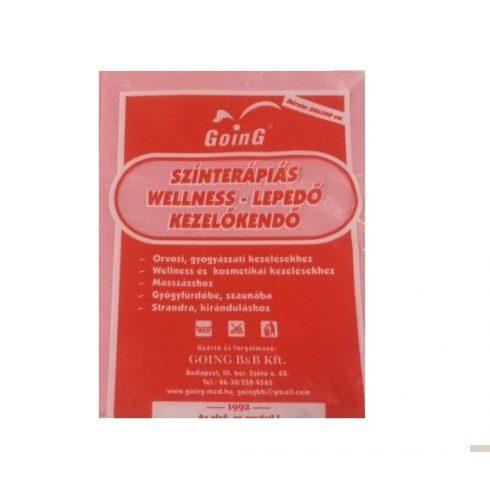 Wellness színterápiás kezelőkendő 80 x 200 cm - rózsaszín