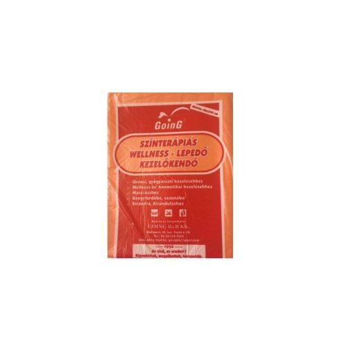 Wellness színterápiás kezelőkendő 80 x 200 cm - narancs